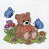 """Набор для вышивания """"Плюшевый медвежонок"""" """"Кларт"""""""