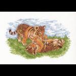 "Набор для вышивания ""Тигрята"" ""Кларт"""