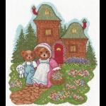 """Набор для вышивания """"Медвежата на прогулке"""" """"Кларт"""""""