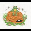 """Набор для вышивания """"Лягушонок и черепаха"""" """"Кларт"""""""