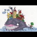 """Набор для вышивания """"Рыба-кит"""" """"Кларт"""""""