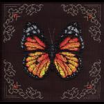 """Набор для вышивания бисером """"Рыжая бабочка"""" """"Кларт"""""""