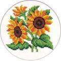 """Набор для вышивания бисером """"Цветы солнца"""" """"Кларт"""""""