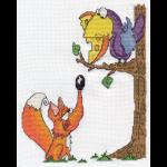 """Набор для вышивания """"Ворона и лисица"""" """"Кларт"""""""