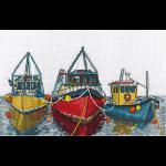 """Набор для вышивания """"Морской порт"""" """"Кларт"""""""
