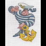 """Набор для вышивания """"Моряк"""" """"Кларт"""""""