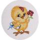 """Набор для вышивания """"Цыпленок"""" """"Кларт"""""""