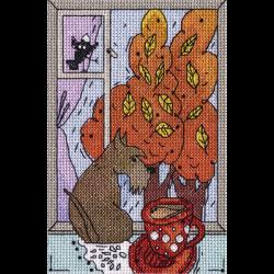 """Набор для вышивания """"Осень за окошком"""" """"Кларт"""""""