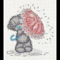 """Набор для вышивания """"Tatty Teddy с зонтиком"""" """"Кларт"""""""