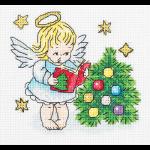 """Набор для вышивания """"Рождественский ангел"""" """"Кларт"""""""