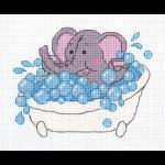 """Набор для вышивания """"Слонёнок"""" """"Кларт"""""""