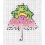 """Набор для вышивания """"Лягушка Жаннетка"""" """"Кларт"""""""