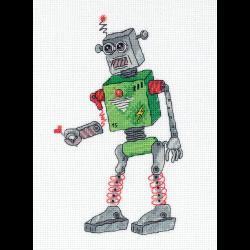 """Набор для вышивания """"Робот"""" """"Кларт"""""""