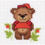 """Набор для вышивания """"Малыш медвежонок"""" """"Кларт"""""""