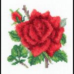"""Набор для вышивания """"Красная роза"""" """"Кларт"""""""