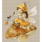 """Набор для вышивания """"Грибная фея"""" """"Luca-S"""""""