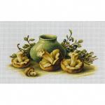 """Набор для вышивания """"Натюрморт с грибами"""" """"Luca-S"""""""