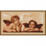 """Набор для вышивания гобелена """"Ангелочки"""" """"Luca-S"""""""