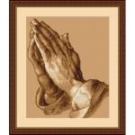 """Набор для вышивания """"Молящиеся руки"""" """"Luca-S"""""""
