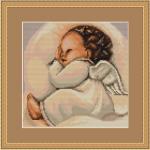 """Набор для вышивания """"Спящий ангелочек"""" """"Luca-S"""""""