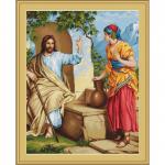 """Набор для вышивания гобелена """"Иисус и самаритянка"""" """"Luca-S"""""""