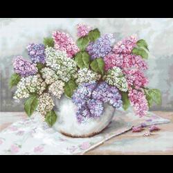 """Набор для вышивания гобелена """"Сирень"""" """"Luca-S"""""""