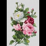 """Набор для вышивания """"Букет с розами"""" """"Luca-S"""""""