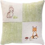 """Набор для вышивания Подушка """"Зайчонок и лисичка"""" """"Luca-S"""""""