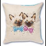"""Набор для вышивания Подушка """"Сиамские котята"""" """"Luca-S"""""""