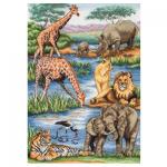 """Набор для вышивания """"Дикая природа Африки"""" """"Maia"""""""