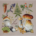 """Набор для вышивания """"Белые грибы"""" """"Марья Искусница"""""""