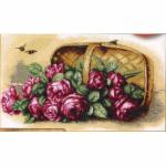 """Набор для вышивания """"Розы в корзинке"""" """"Марья Искусница"""""""