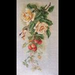 """Набор для вышивания """"Розы и земляника"""" """"Марья Искусница"""""""