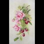 """Набор для вышивания """"Розы и вишня"""" """"Марья Искусница"""""""