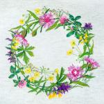 """Набор для вышивания """"Полевые цветы"""" """"Марья Искусница"""""""