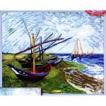 "Набор для вышивания ""Лодки в Сен-Мари"" ""Марья Искусница"""