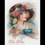 """Набор для вышивания """"Время пить чай"""" """"Марья Искусница"""""""