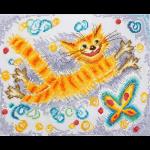 """Набор для вышивания """"Солнечный кот"""" """"Марья Искусница"""""""