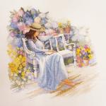 """Набор для вышивания """"Цветущий сад"""" """"Марья Искусница"""""""