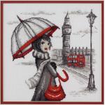 """Набор для вышивания """"Лондон"""" """"Марья Искусница"""""""
