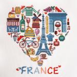 """Набор для вышивания """"Франция"""" """"Марья Искусница"""""""