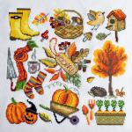 """Набор для вышивания """"Осень"""" """"Марья Искусница"""""""