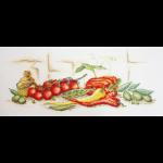 """Набор для вышивания """"Помидоры, перец и оливки"""" """"Марья Искусница"""""""