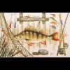 """Набор для вышивания """"Удачной рыбалки"""" """"Марья Искусница"""""""