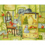 """Набор для вышивания """"Рождественское одеяло"""" """"Марья Искусница"""""""