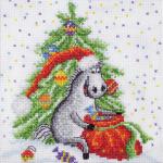 """Набор для вышивания """"Новогодние радости"""" """"Машенька"""""""