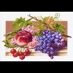 """Канва с рисунком """"Солнечные плоды"""" """"Матренин Посад"""""""
