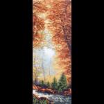 """Канва с рисунком """"Золотая осень"""" """"Матренин Посад"""""""