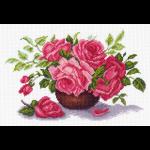 "Канва с рисунком ""Букет роз"" ""Матренин Посад"""