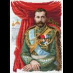 "Канва с рисунком ""Император Николай II"" ""Матренин Посад"""